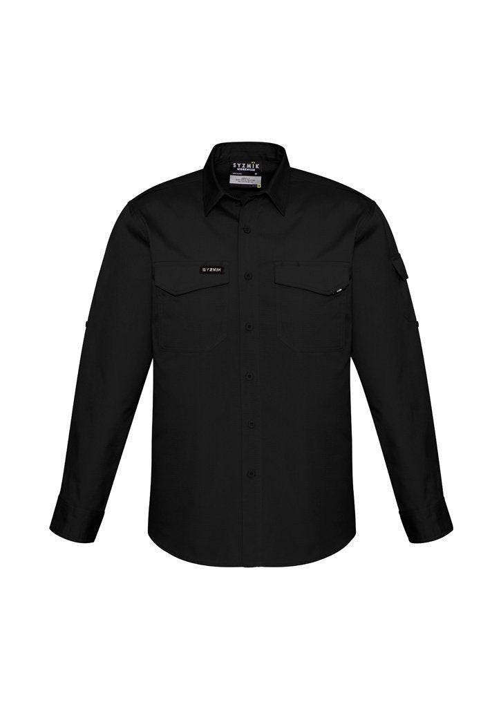 Syzmik Men's Rugged Cooling L/S Shirt