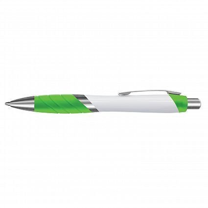 Borg Pen - White Barrel