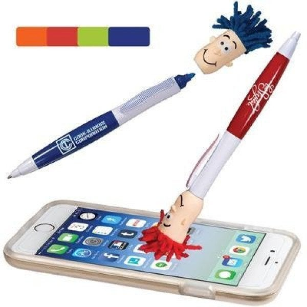 Custom Mop Top Highlighter Pen