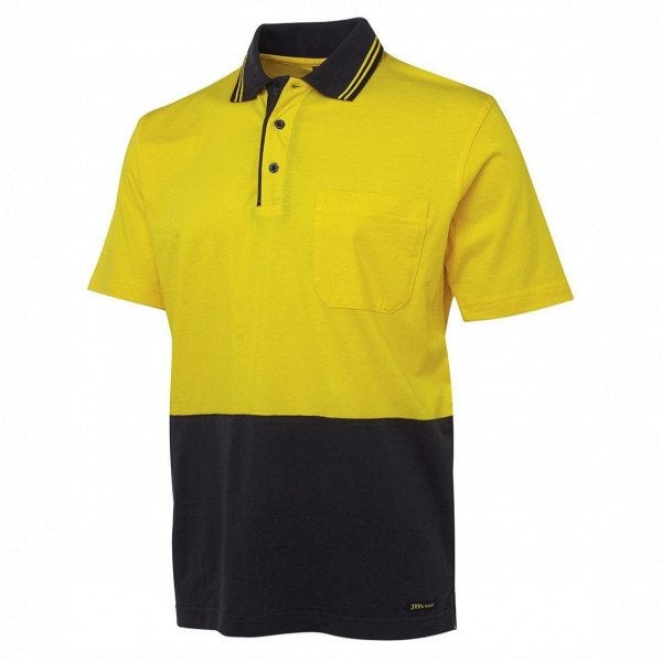 Custom HI VIS S/S COTTON POLO