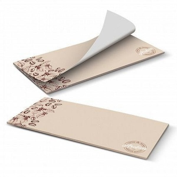 Custom DLE Horizontal Note Pad - 25 Leaves