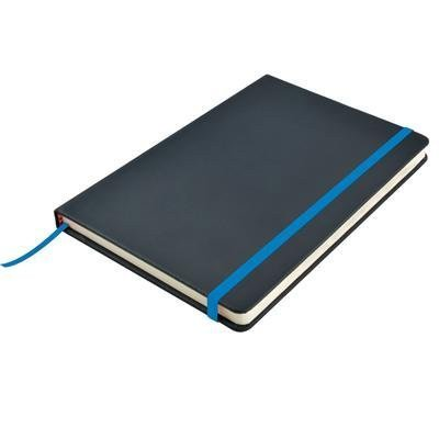 Venture A5 PU Notebook with Elastic Closure