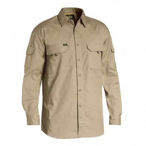 Custom X Airflow Ripstop Mens L/S Work Shirt