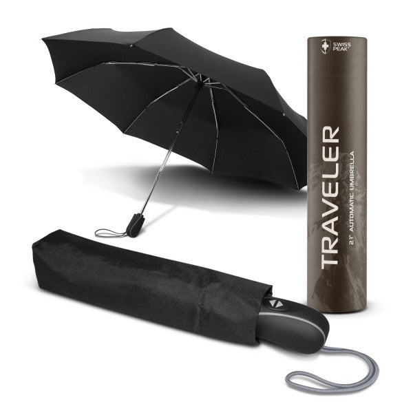 Custom Swiss Peak Traveler 53cm Umbrella