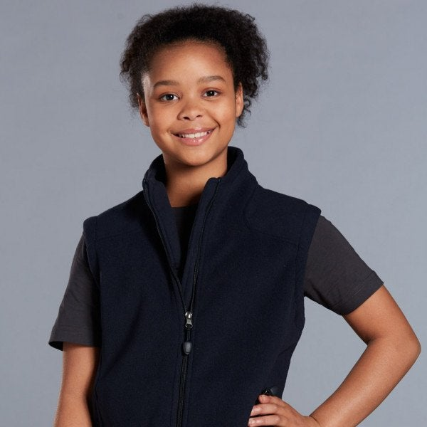 Custom Kids Diamond Fleece Vest