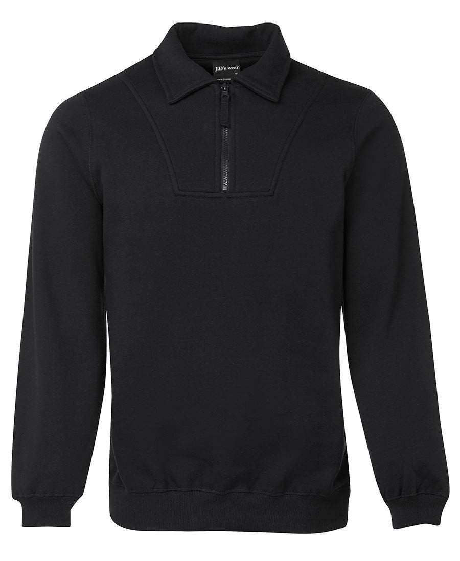 1/2 Zip Fleecy Sweat