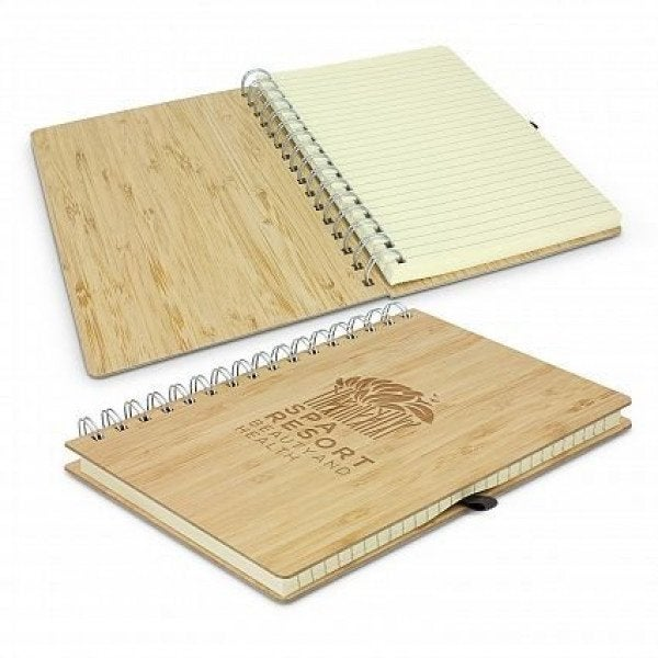 Custom Bamboo Notebook