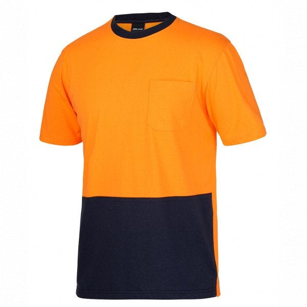Custom Hi Vis Cotton T-shirt