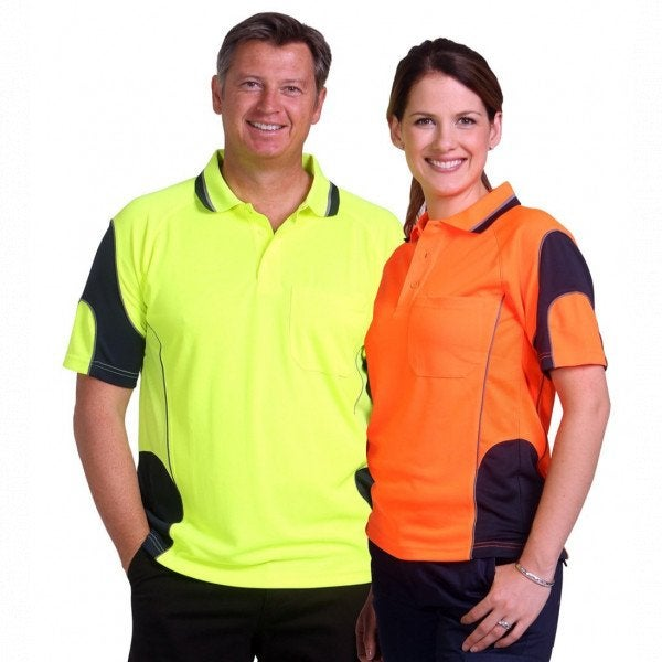 Custom Aliance Unisex Hi Vis Polo