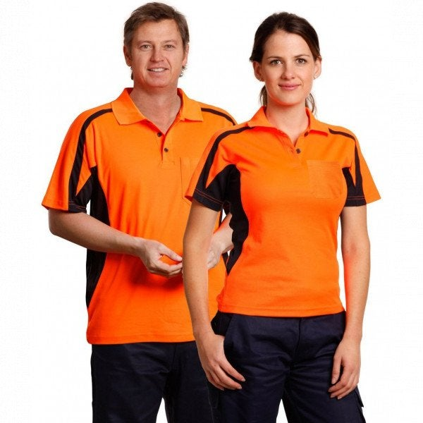Custom True Dry Hi Vis Unisex Polo