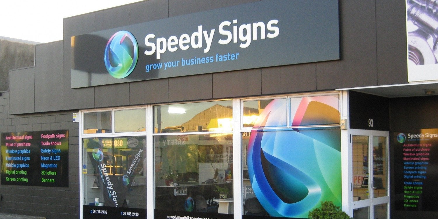 Speedy Signs New Plymouth
