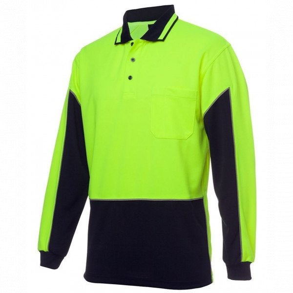 Custom Hi Vis L/S Gap Polo