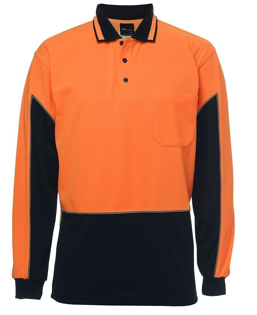 Hi Vis L/S Gap Polo