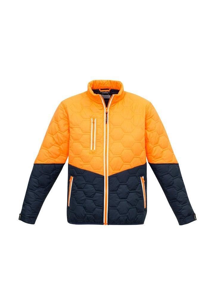 Unisex Hi Vis Puffer Jacket