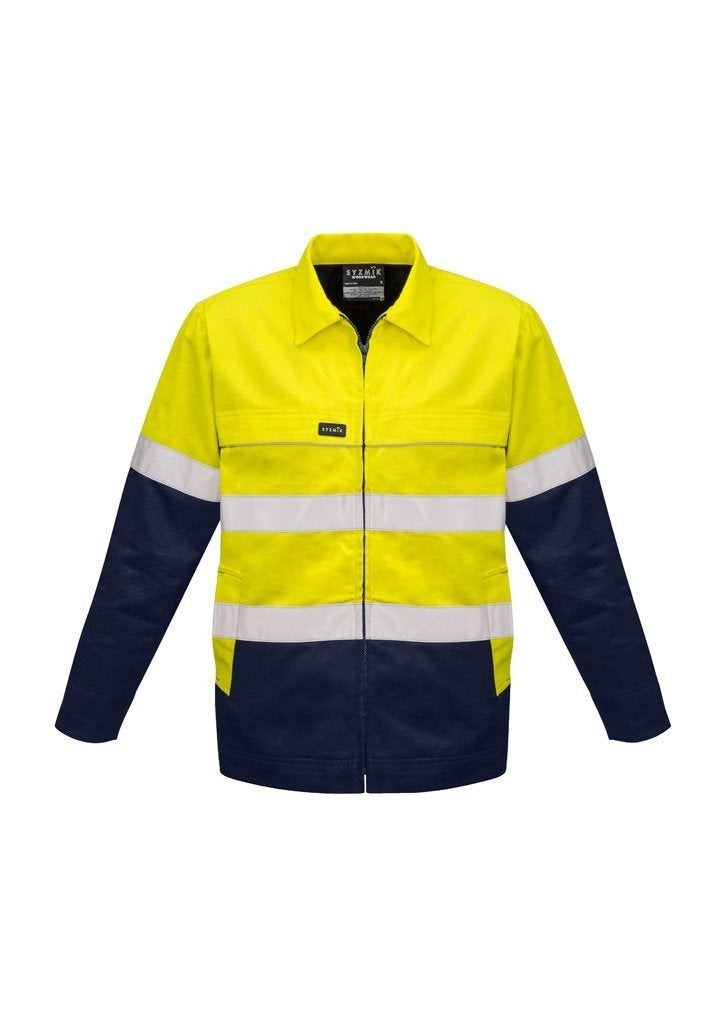 Syzmik Hi Vis Cotton Drill Jacket