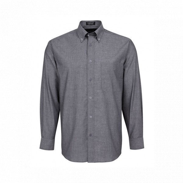 Custom L/S Fine Chambray Shirt
