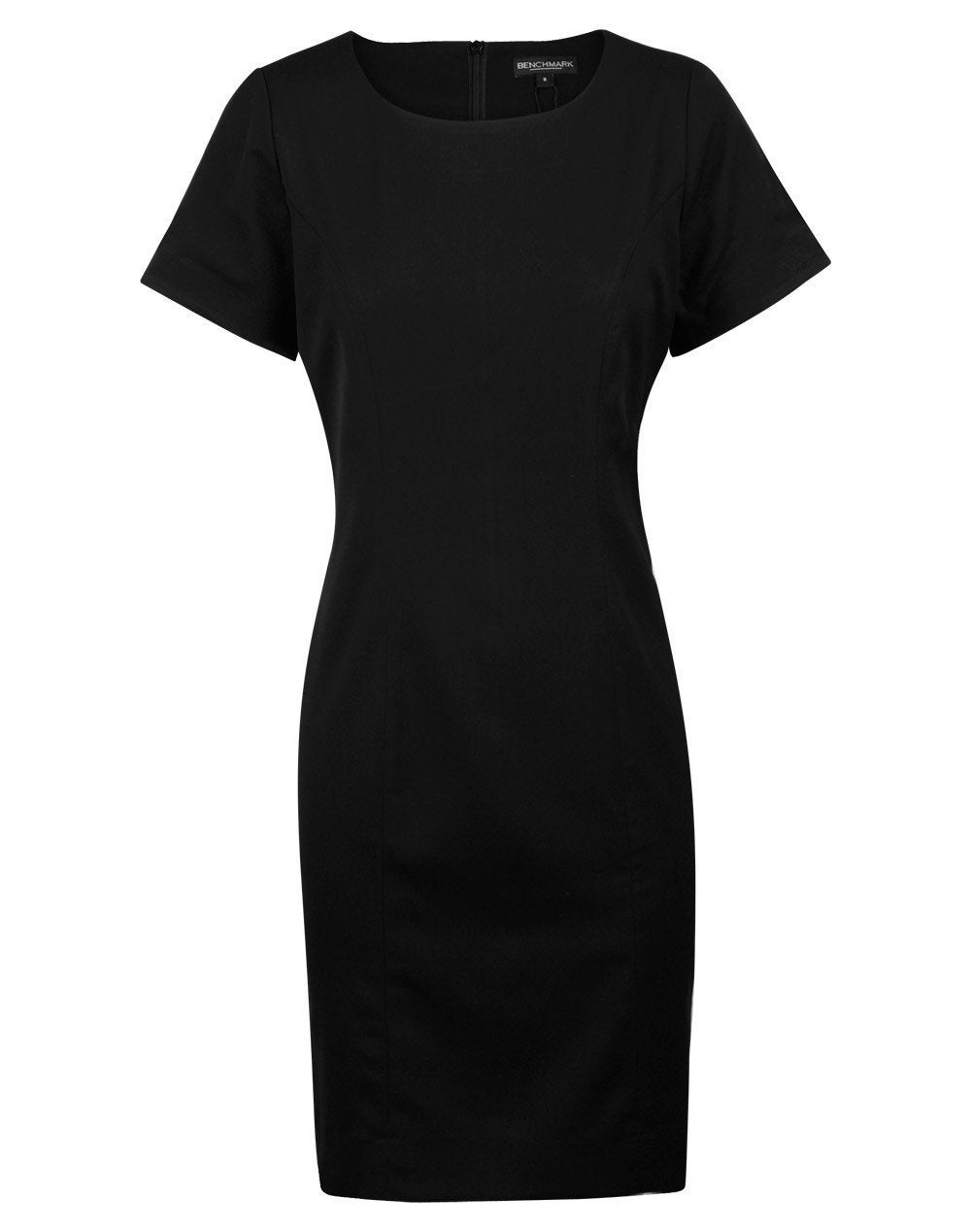 Ladies' Poly/Viscose Stretch S/S Dress
