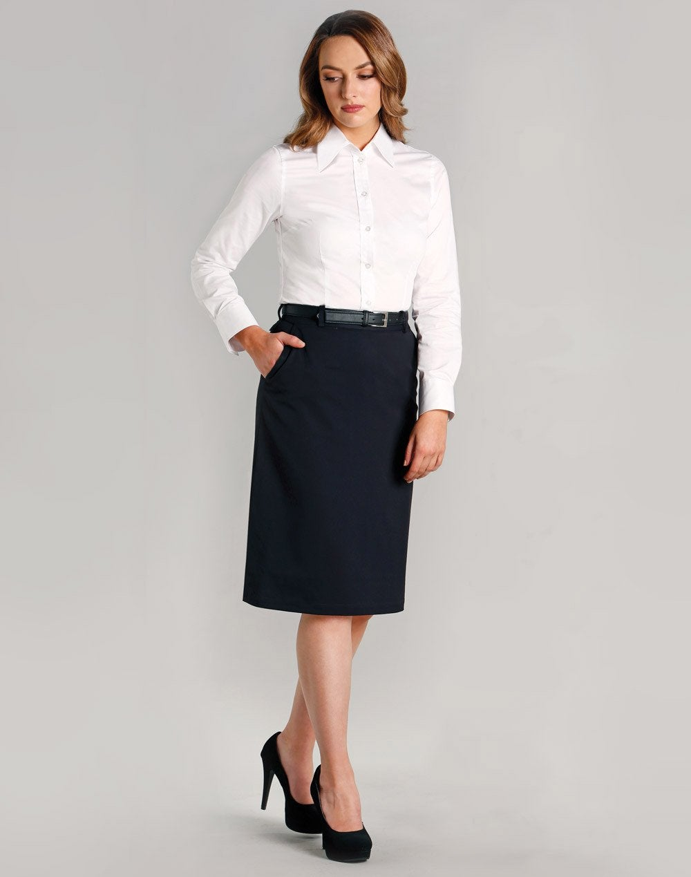 Women's Poly/Viscose Utility Lined Skirt