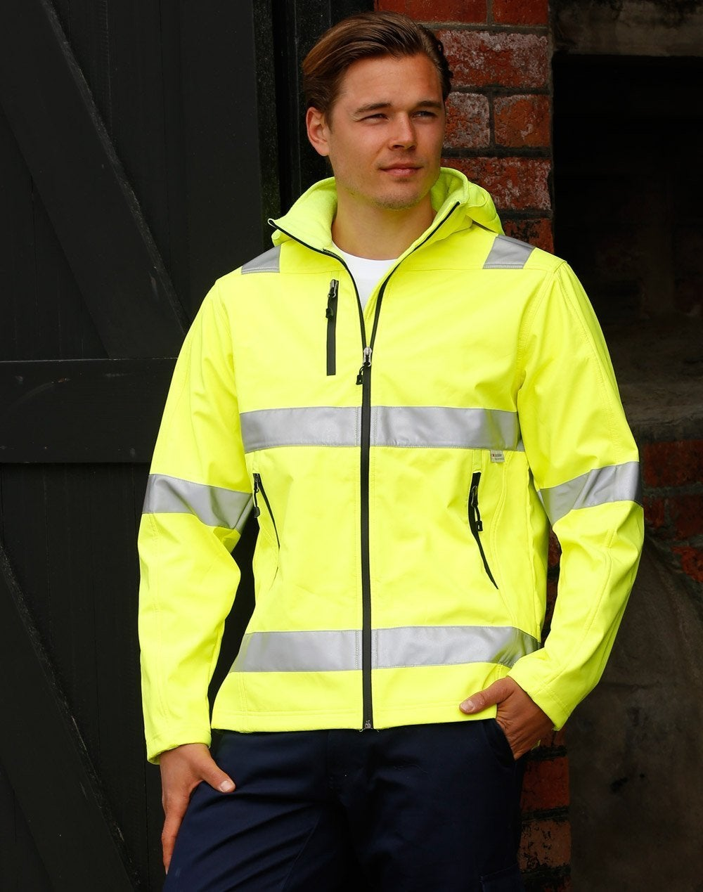 Hi Vis Unisex Safety Jacket
