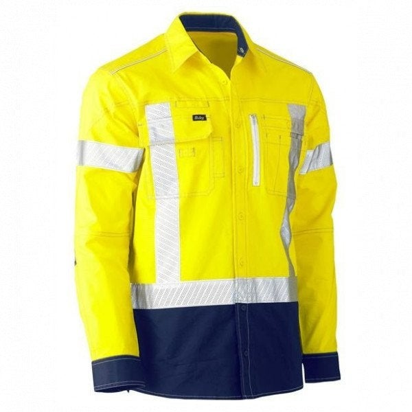 Custom Hi Vis Stretch Utility Shirt