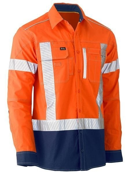 Hi Vis Stretch Utility Shirt